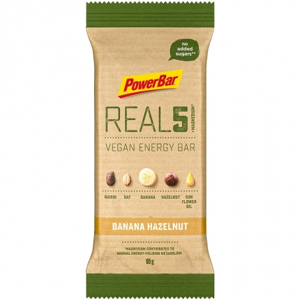 PowerBar Baton wegański REAL5 Vegan Energy Bar 65g