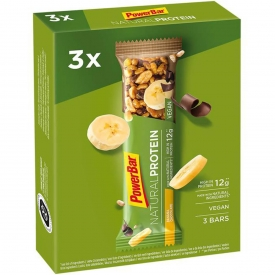 Wegański baton proteinowy 3 szt. Natural Protein Bar 40g Czekolada-banan