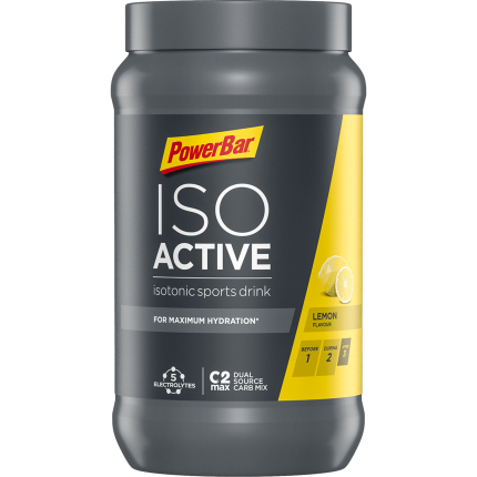 PowerBar Napój izotoniczny w proszku Isoactive Izotonik Sports Drink 600g